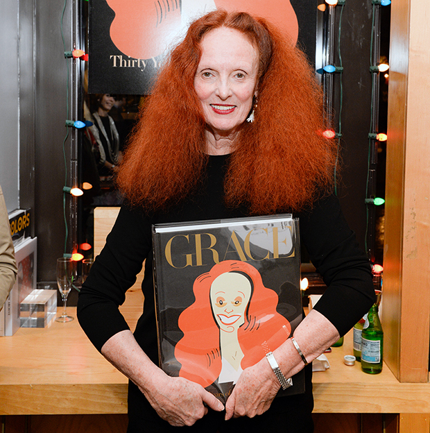 Bookmarc NY Welcomes Grace Coddington!